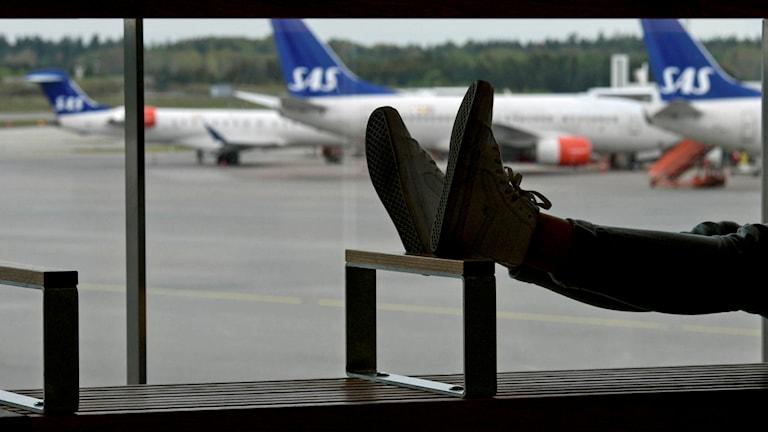Varslet gäller SAS piloter till och från Arlanda.