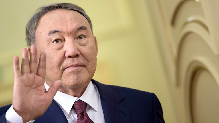 Kazakstans president Nursultan Nazarbayev