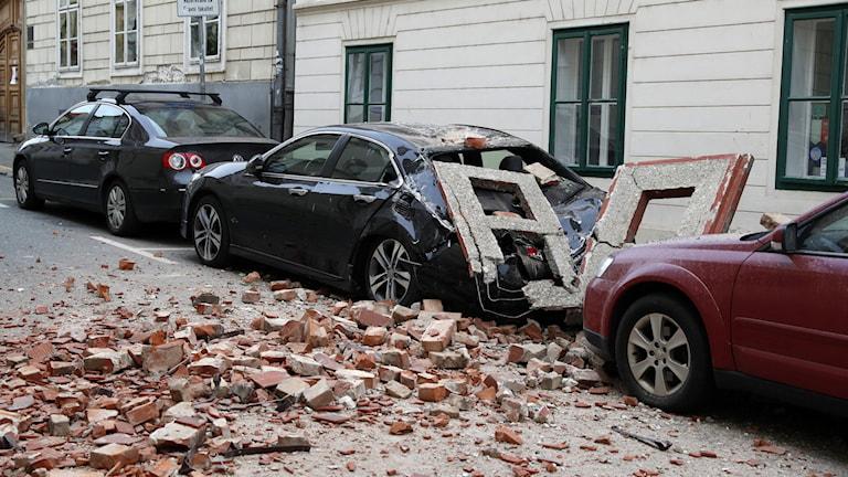 Jordbävning Zagreb