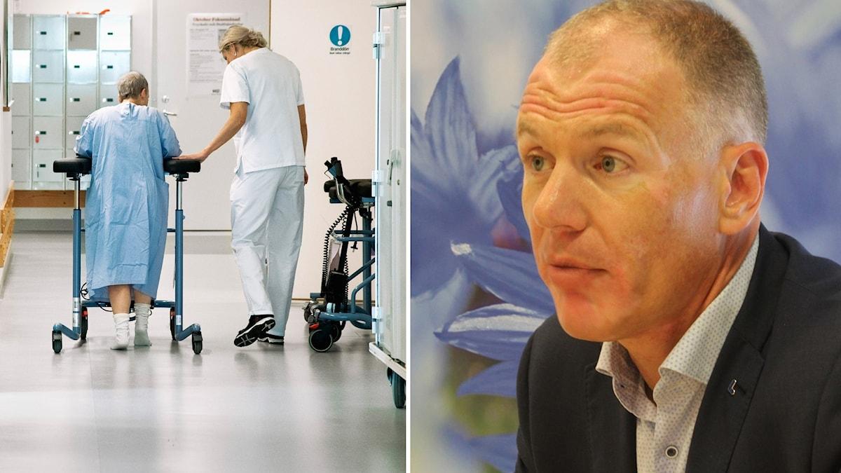 Gilbert Tribo (L), Hälso- och sjukvårdsnämndens ordförande i Region Skåne.