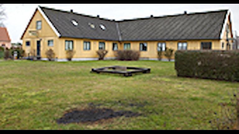 Boendet för ensamkommande flyktingbarn i Hököpinge. Foto: Drago Prvulovic/Scanpix.