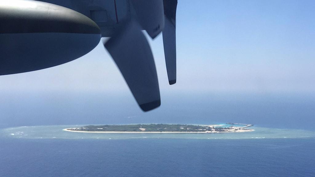Itu Aba hör till de omstridda Spratly öarna