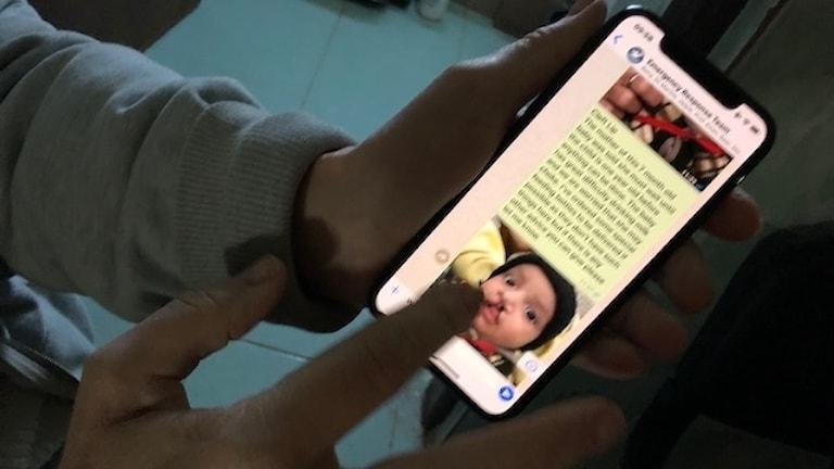 Ultraljud, röntgenplåtar och bilder av åkommor, skador och sjukdomssymptom skickas via mobilen till specialistläkare.