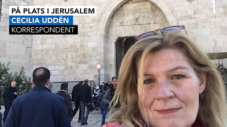 Cecilia Uddén, Jerusalem