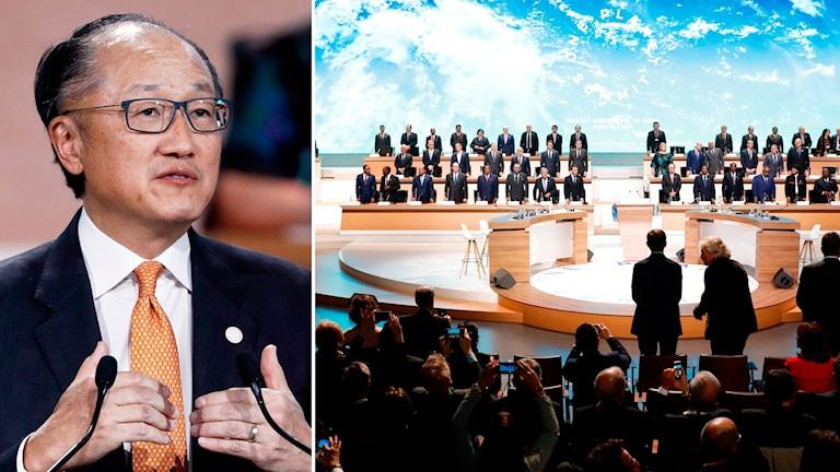 Världsbankens chef Jim Yong Kim.