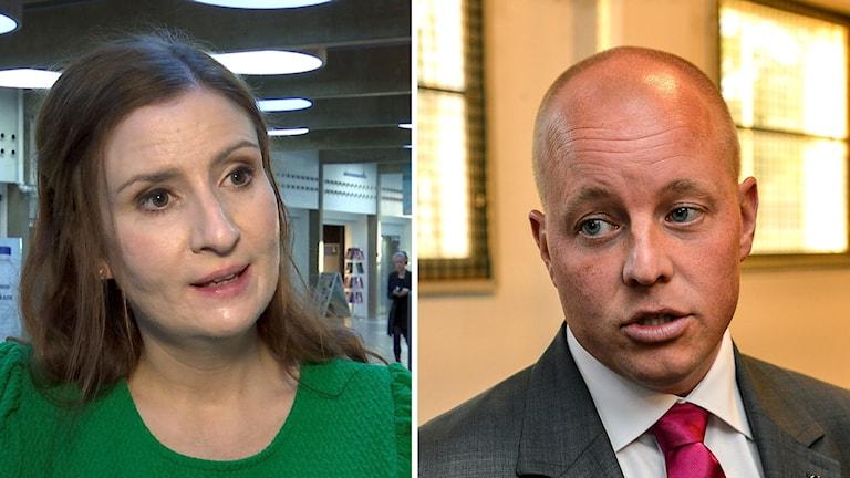 Birgitta Ohlsson och Björn Söder