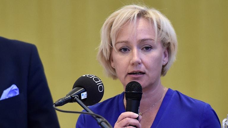 Forskningsminister Helene Hellmark Knutsson.