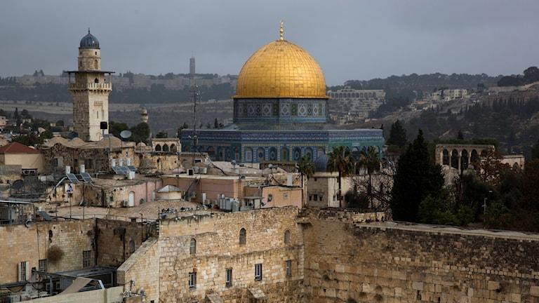 Genrebild på Jerusalem