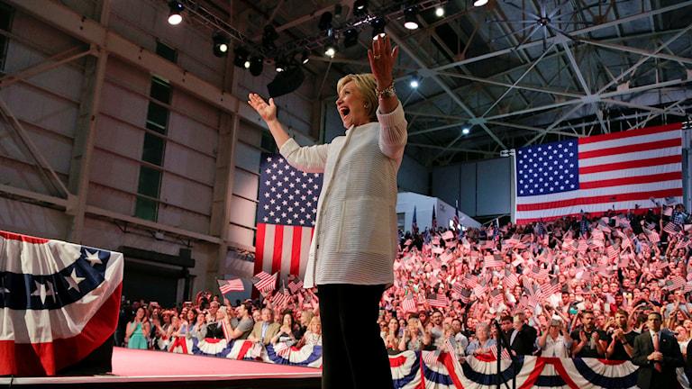 Demokraternas presidentkandidat ser ut att bli Hillary Clinton