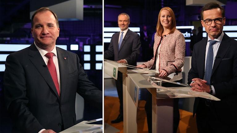 Svenska partiledare