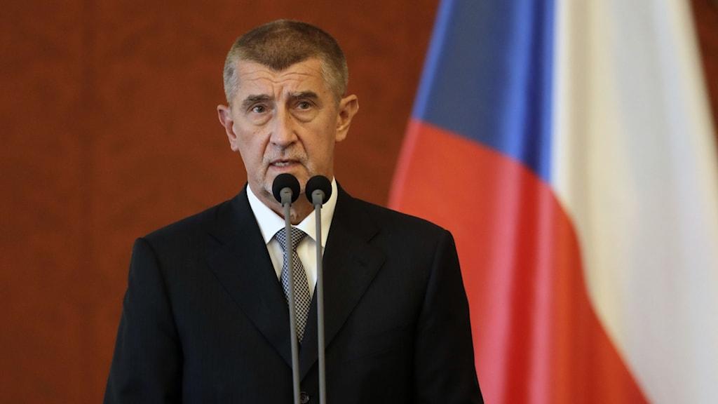 tjeckiens premiärminister Babis