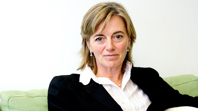 Lena Hagman, chefsekonom Almega.