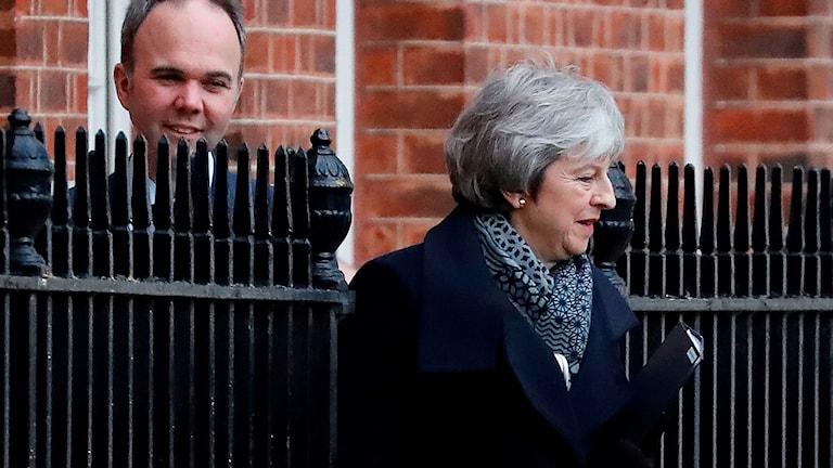Premiärminister Theresa May.