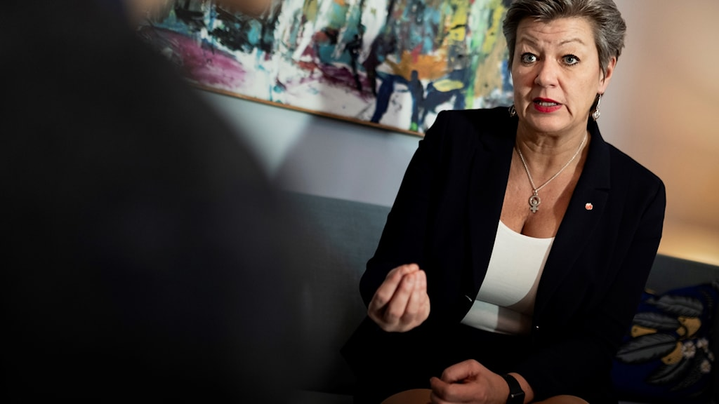 Arbetsmarknadsminister Ylva Johansson