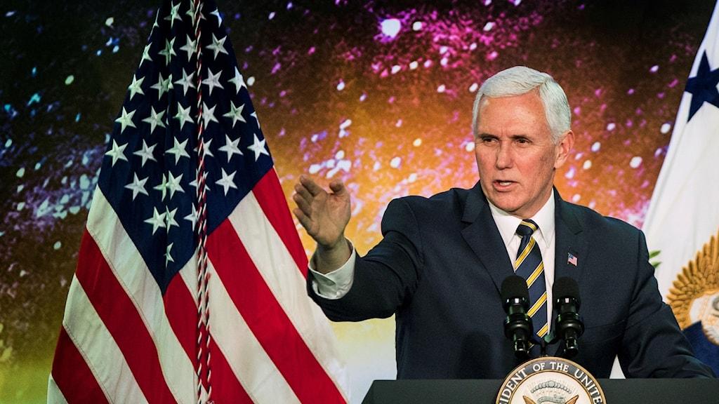 USA:s vicepresident Mike Pence.
