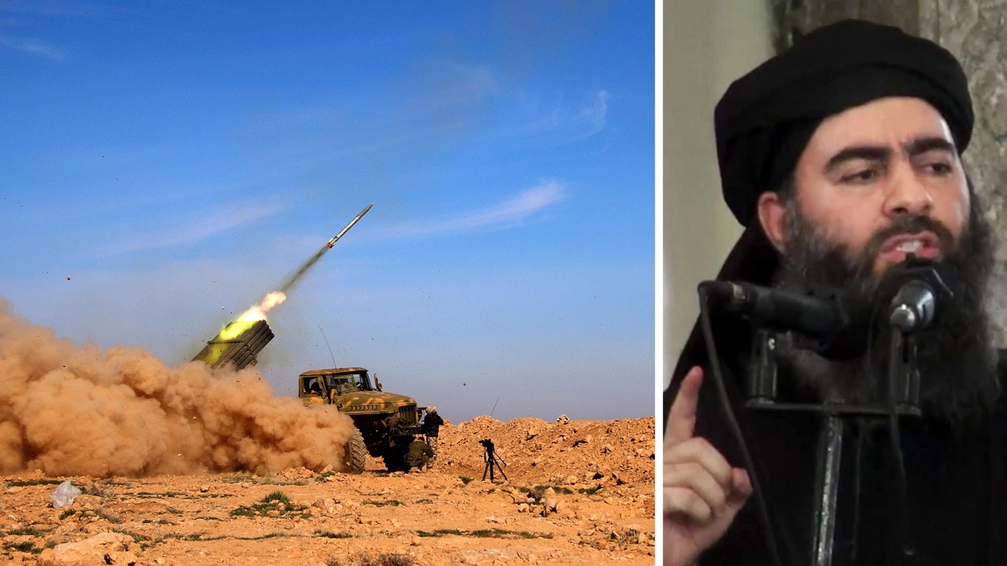 Rebellallians avancerar i al raqqa