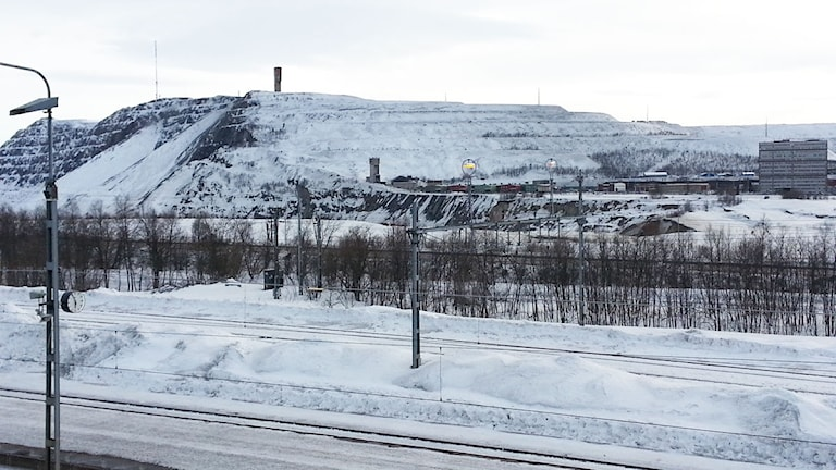 LKAB:s Kirunagruva.
