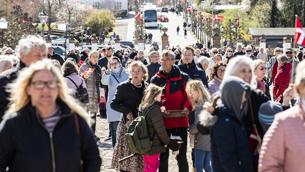 Folksamling i Danmark.