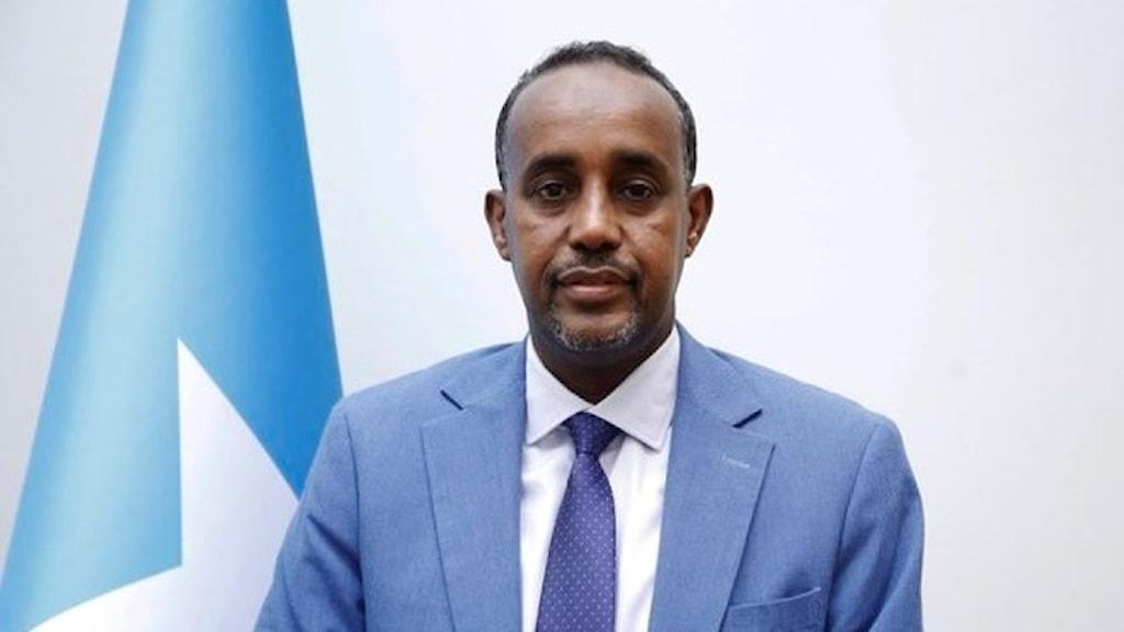 Nye premiärministern Mohamed Hussein Roble.