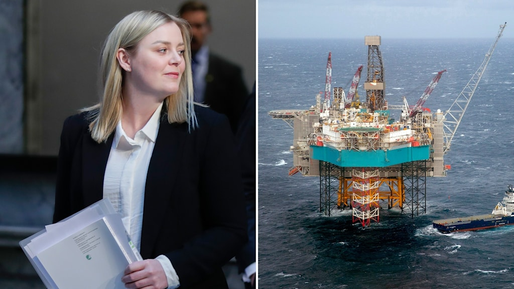 Norges oljeminister Tina Bru