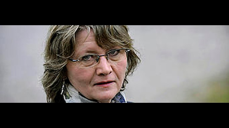 Eva Gabrielsson tackar nej. Foto: Janerik Henriksson/Scanpix.