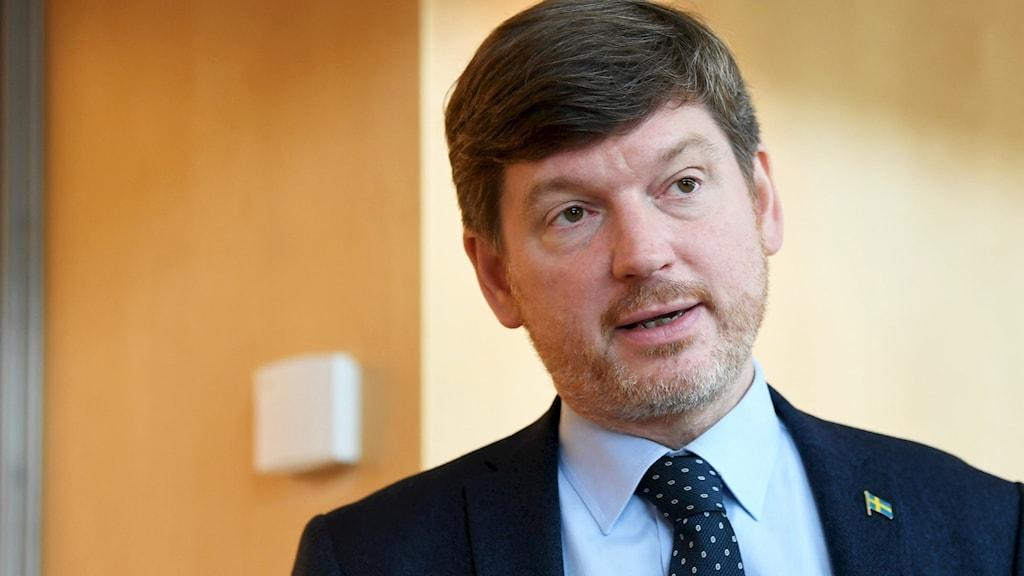 Martin Ådahl, Centerpartiets ekonomisk-politiske talesperson.