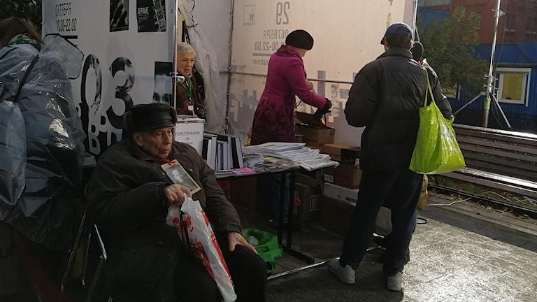 88-årige Giorgij Fillipov förlorade sin pappa och farbror under stora terrorn 1937