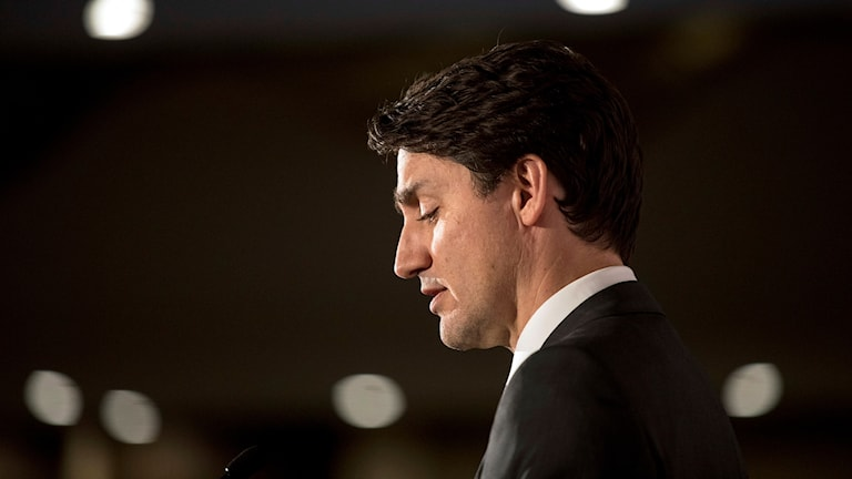 Kanadas premiärminister Justin Trudeau.