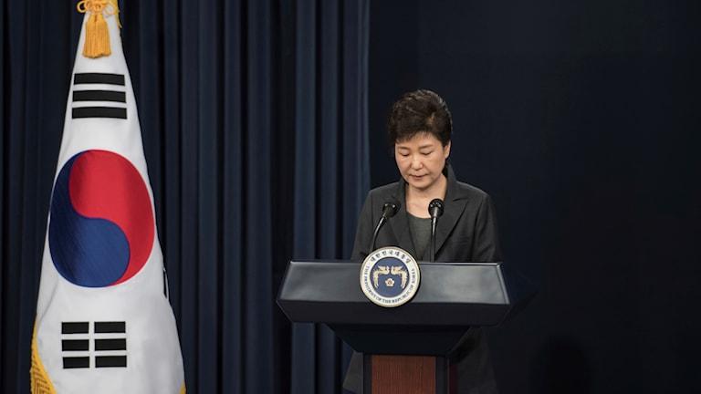Sydkoreas president Park Geun-hye.