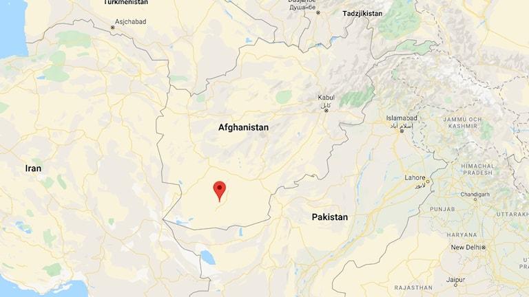 Helmandprovinsen i Afghanistan.