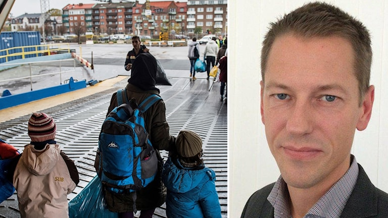 Barn på flykt och Magnus Jägerskog, generalsekreterare på Bris.