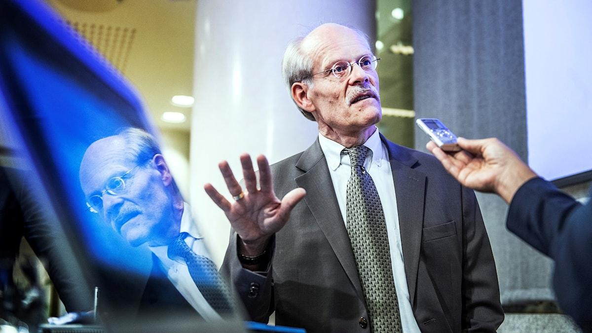 Stefan Ingves chef för Riksbanken.