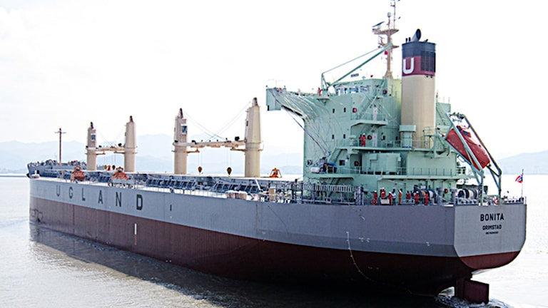Fartyget MV Bonita