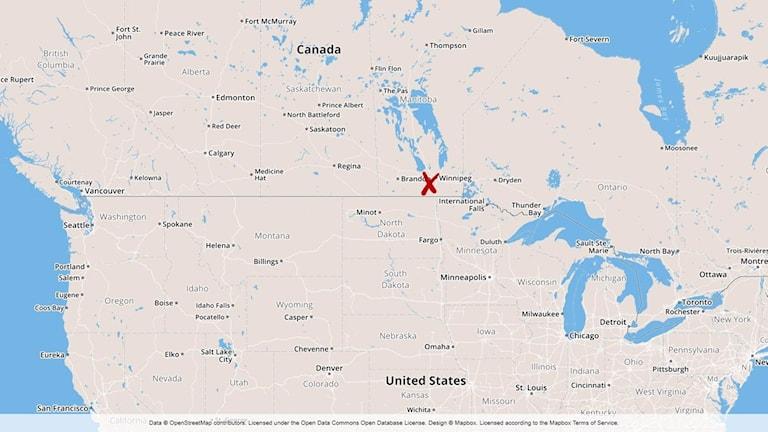 Gasläcka Kanada