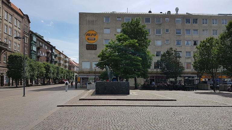 ساحة جوستاف أدولف في هلسنبوري
