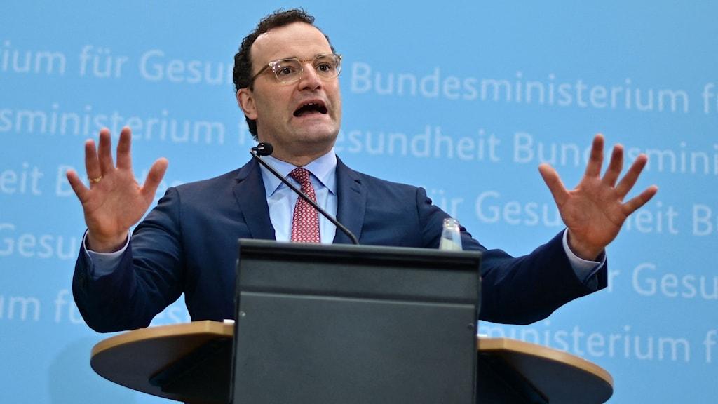 Tysklands hälsominister Jens Spahn.