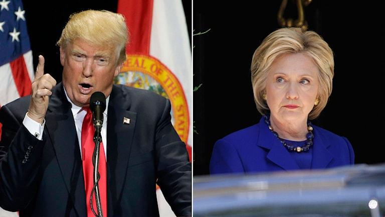 Presidentkandidaterna Trump och Clinton är båda tveksamma till frihandelsavtalen TTIP och TTP.