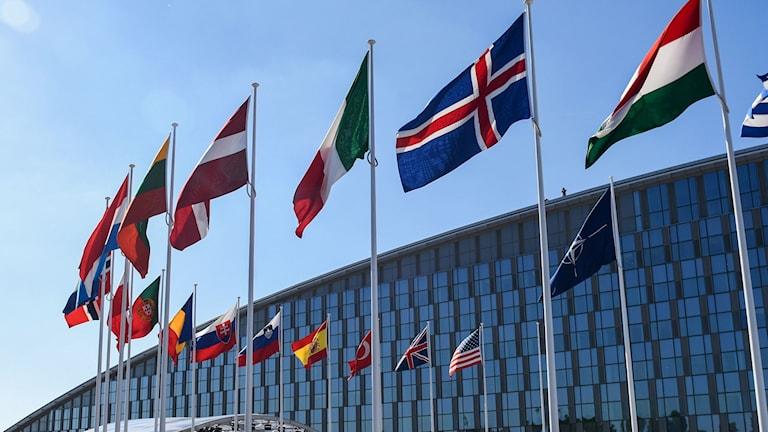 Natohögkvarteret i Bryssel.