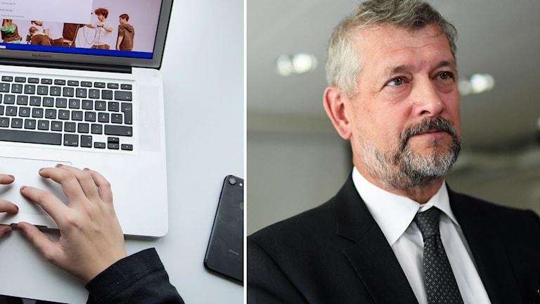Försäkringskassans generaldirektör Nils Öberg