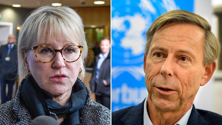 Margot Wallström (S) beklagar Guatemalas önskan att skicka hem ambassadör Anders Kompass.