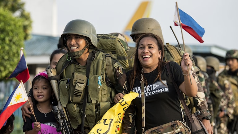 Soldater i Marawi