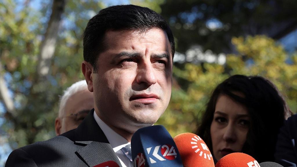 Prokurdiska partiledaren Selahattin Demirtas.
