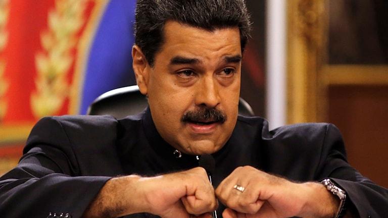Venezuelas president Nicolás Maduro