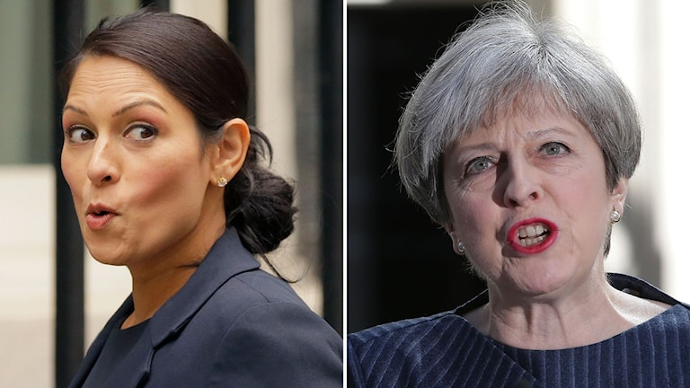 Priti Patel och Theresa May