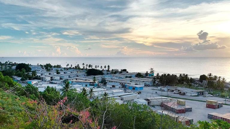Flyktinglägret på ön Nauru. Arkivbild.