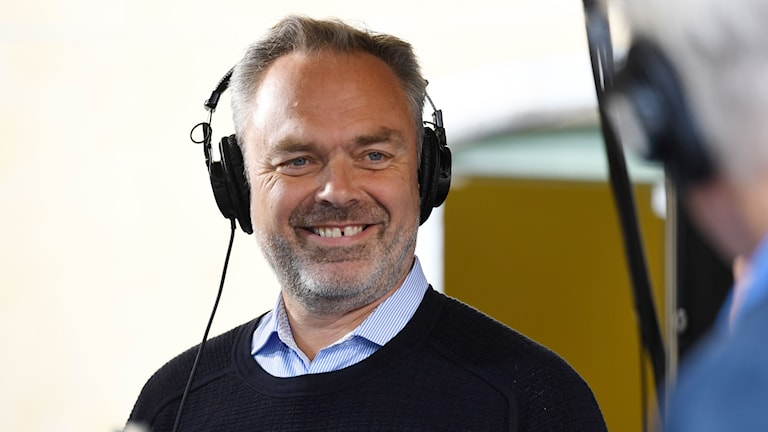 Liberalernas partiledare Jan Björklund under Almedalsveckan 2016 som inleddes på söndagen med Liberalernas dag.