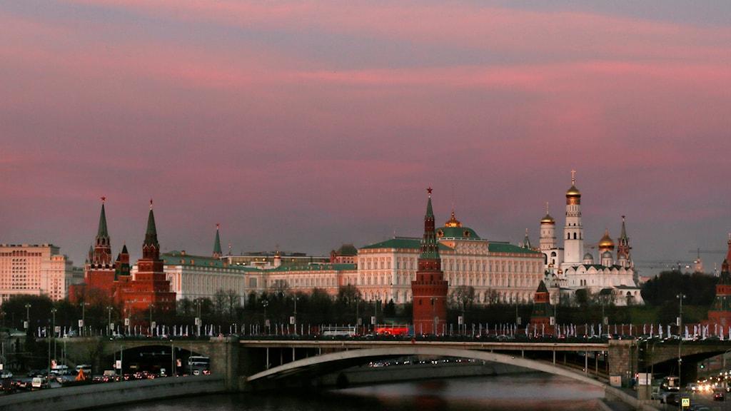 Kremlin i Moskva