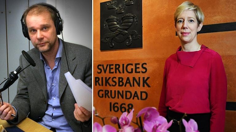 Kristian Åström och Anna Broman.