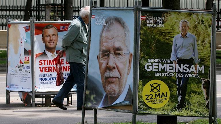 Idag är det presidentval i Österrike
