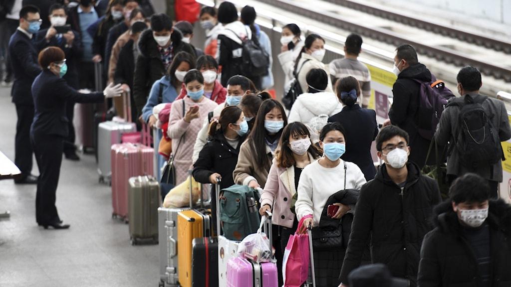 Henan China tåg